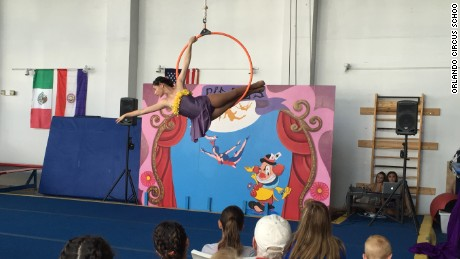 Orlando Circus School offers lessons in tumbling, dancing and juggling.