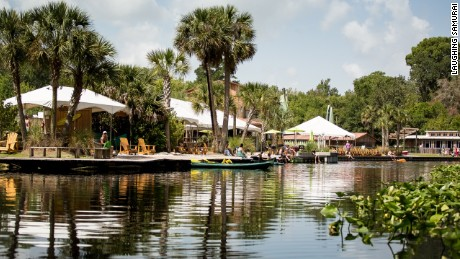 About a half hour from Orlando, Wekiva Island is a low-key refuge from amusement park crowds.