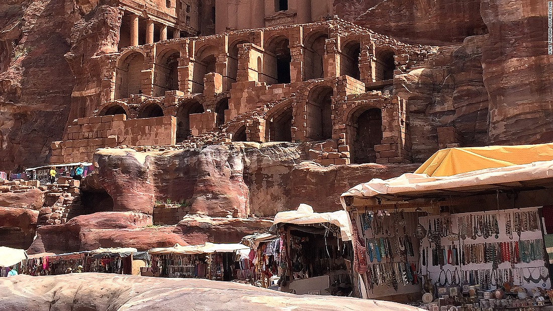 The Corinthian Tomb and the Palace Tomb are two of the Royal Tombs in Petra.