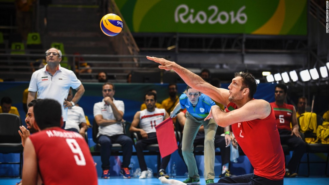 "Having only joined the national team in March, Mehrzad is being trained ""step by step"", Iranian coach Hadi Rezaeigarkani told <a href=""https://www.rio2016.com/en/paralympics/news/iranian-sitting-volleyball-giant-towers-over-opposition-Rio-2016"" target=""_blank"">Rio2016.com</a>."