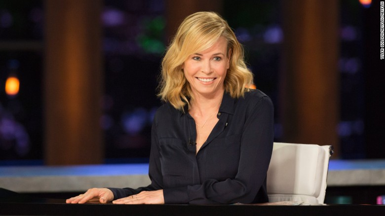 Chelsea Handler  already bought a house in another country, just in case.