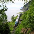Trans Siberian secrets A-train-stop-on-Lake-Baikal