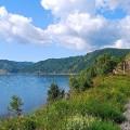 Trans Siberian secrets Railroad-on-the-coast-of-Lake-Baikal
