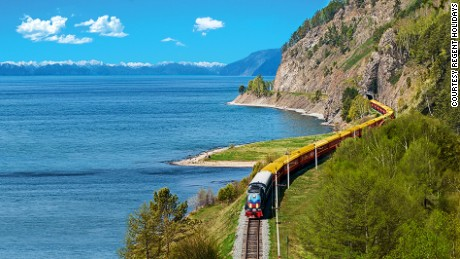 Tsar's Gold is a luxury train service that tours the Trans-Siberian route every summer.