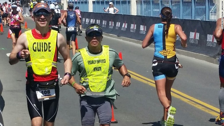 Blind US Army vet to race in Ironman World Championship