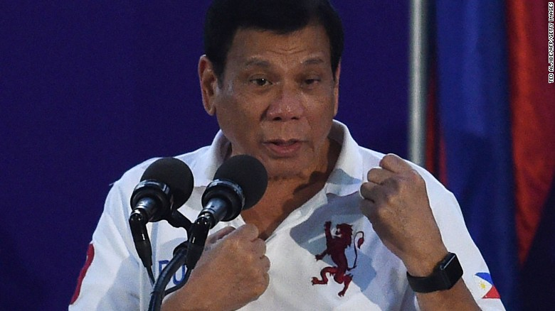 Duterte is controversial abroad, popular at home