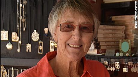 Jewelry seller Marguerite van Geldermalsen.