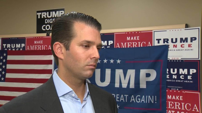 Trump Jr.: Tax release would change dialogue