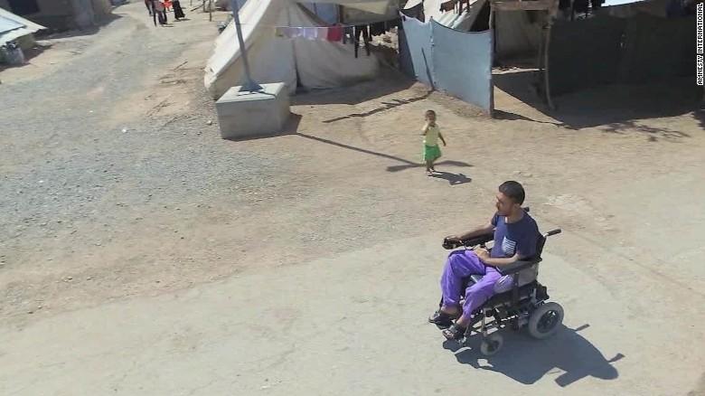 amanpour disabled syrian refugees pkg_00000416