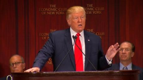 donald trump economic speech