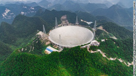 China's giant telescope