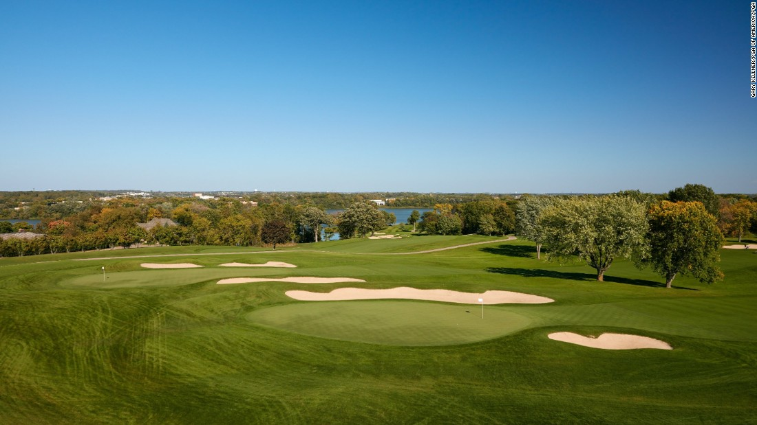 Hazeltine's championship course is the ongoing legacy of the renowned Jones family of golf architects.