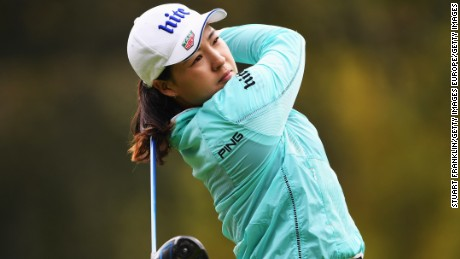 In-Gee Chun was joint leader at the Evian Championship after Thursday's opening round.
