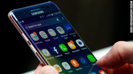 Samsung Galaxy Note 7 launches exchange program