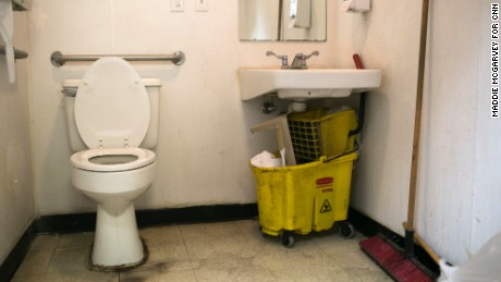 A man and woman overdosed in this Marathon gas station bathroom.