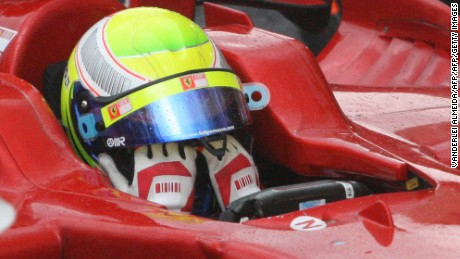 Massa wept after losing the 2008 drivers' title, despite winning the season's finale at Interlagos.