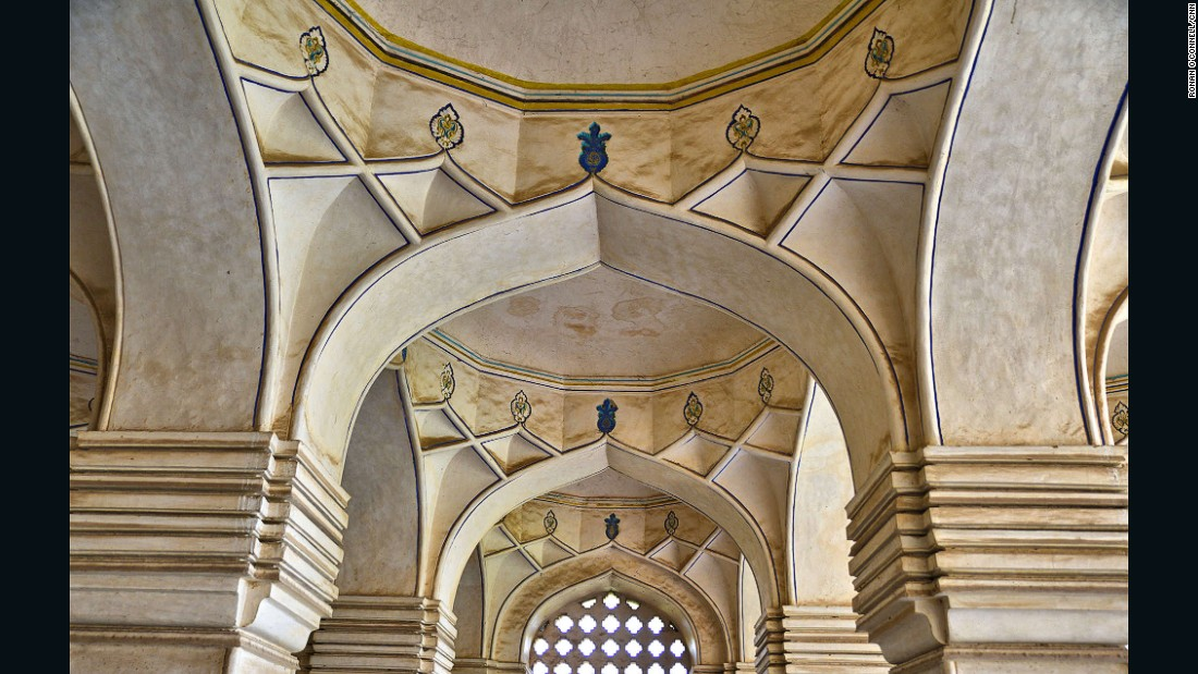 Symmetry is a key design element of the Great Mosque.
