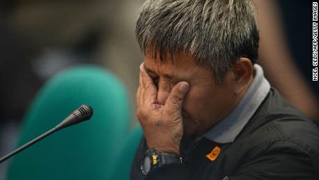 Edgar Motobato claims to have been hitman for Duterte