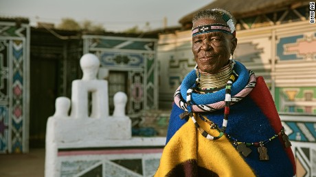 Related: The 81 year old Ndebele artist brands can't get enough of