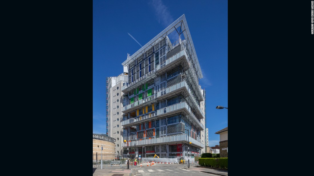The new cancer center at Guy's Hospital cost £160 million ($212 million) to build, and makes the hospital the first in Europe to have above-ground radiation facilities.