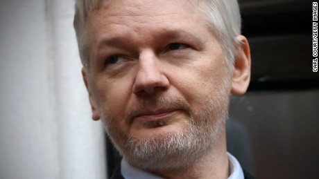 WikiLeaks chief Julian Assange: US hacking report is 'embarrassing'