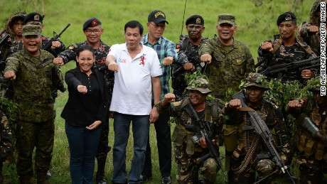 Duterte's office denies death squad claims