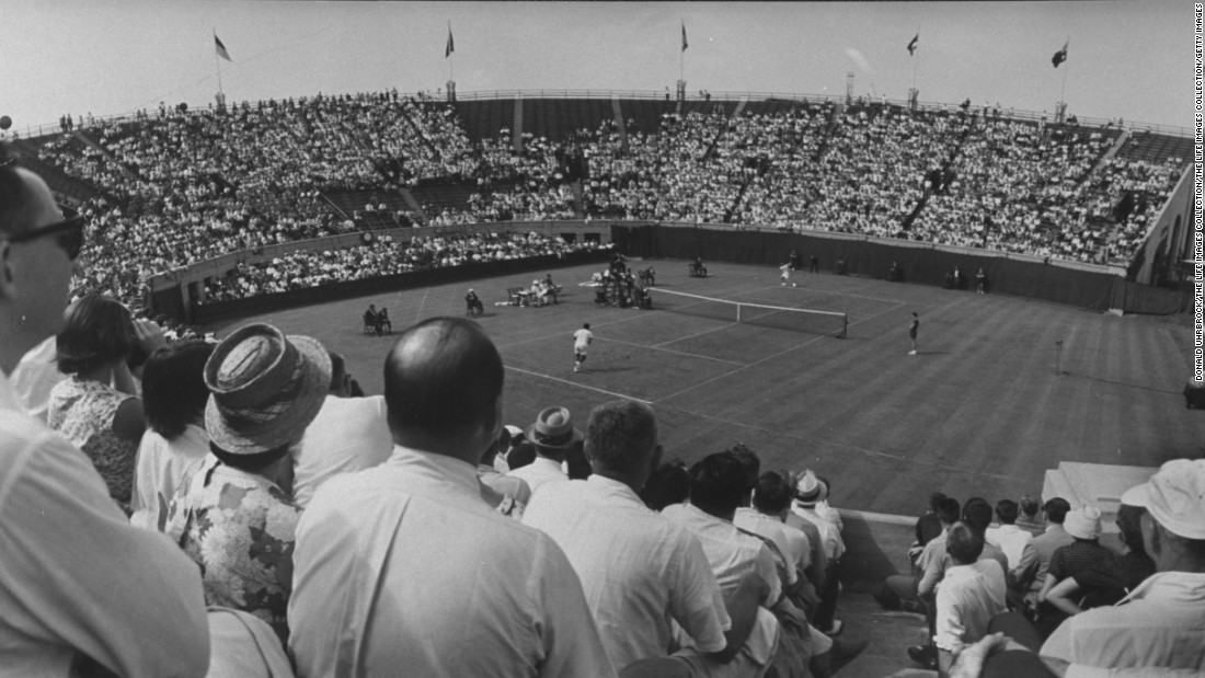 The final of the international teams tournament was held at Forest Hills 10 times, more than any other stadium. Its last staging there was in 1959.