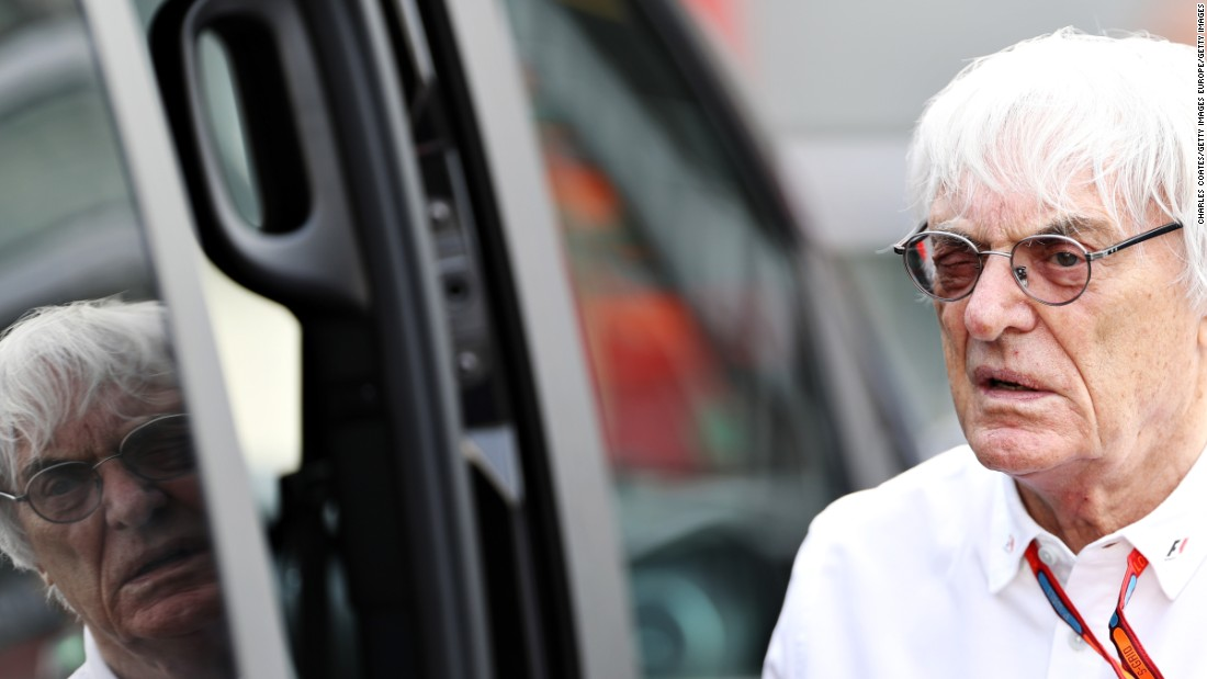"It's officially the end of an era ... Bernie Ecclestone is no longer boss of Formula One, though he has been given the honorary title of ""chairman emeritus."""
