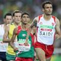 Tunisian athlete abbes saidi