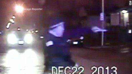 Video shows cop fire at car full of teens