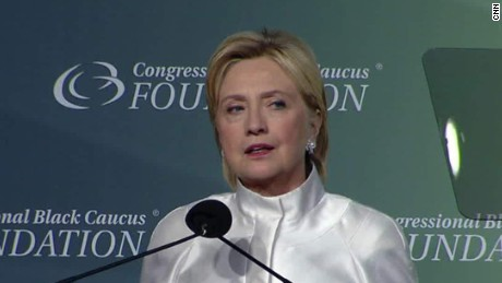 congressional black caucus foundation dinner hillary clinton sot_00001703