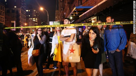 Chelsea on edge: Witnesses describe explosion scene