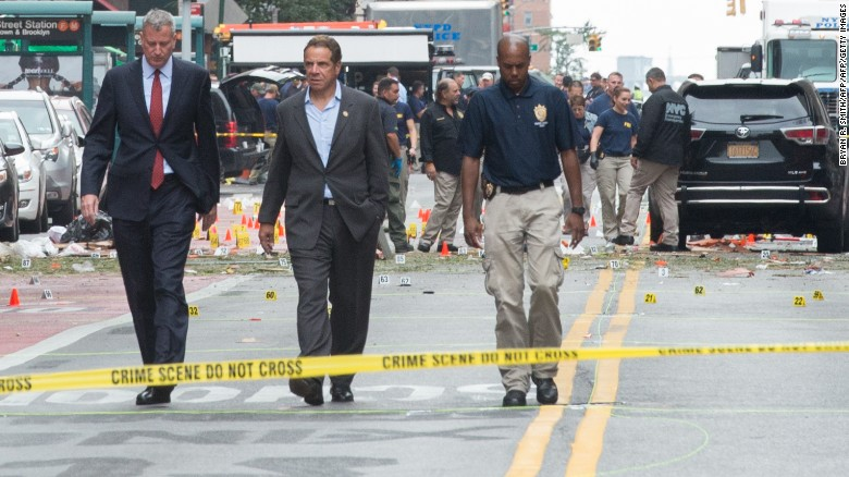 Explosion rocks New York's Chelsea neighborhood