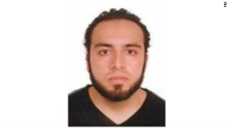 An image of Ahmad Rahami from the FBI poster circulated Monday.