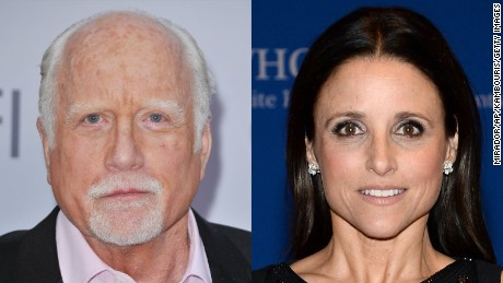 Richard Dreyfuss is not the father of Julia Louis-Dreyfus.
