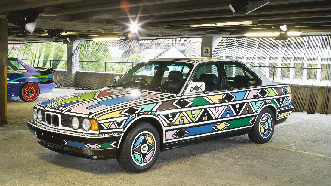Mahlangu was the first woman to create artwork for the Art Car project and joined the ranks of other notable artists including Ernst Fuchs and Andy Warhol.