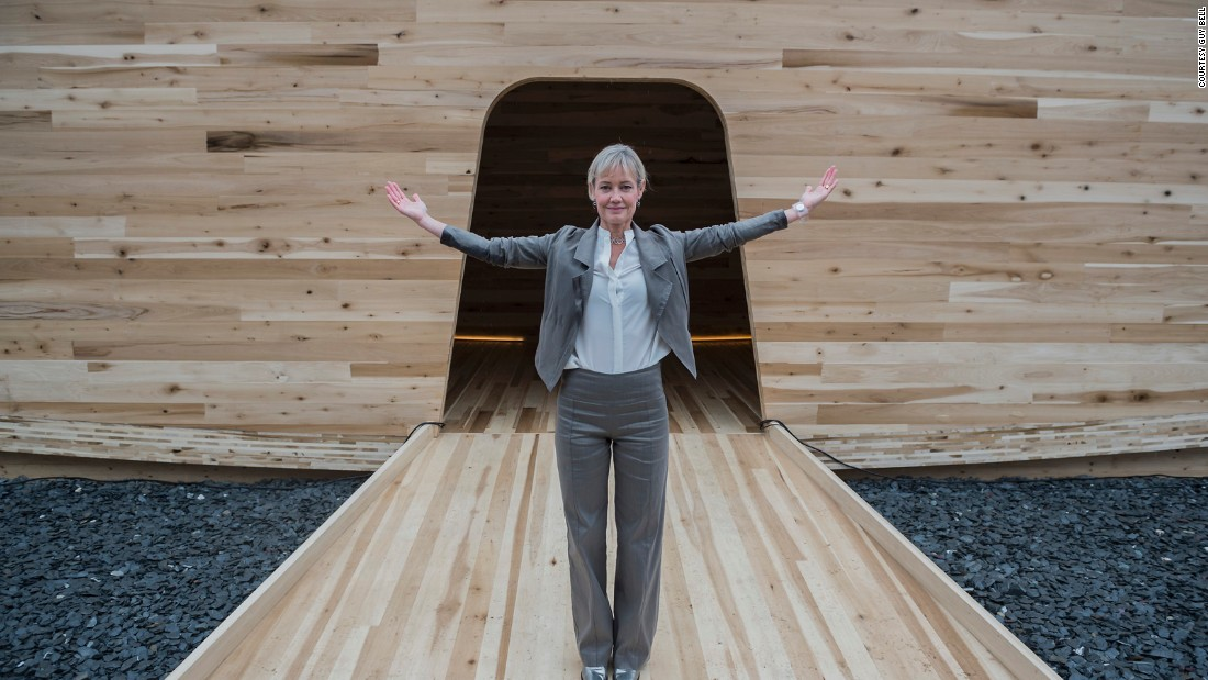 """(CLT is) going to open up a whole new world of possibility,"" says Brooks, see here. ""It reveals the possibility of buildings being completely fabricated in wood."""
