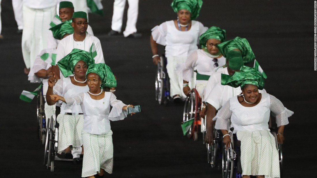 Team Nigeria won a total of eight gold medals, the most by any African team.