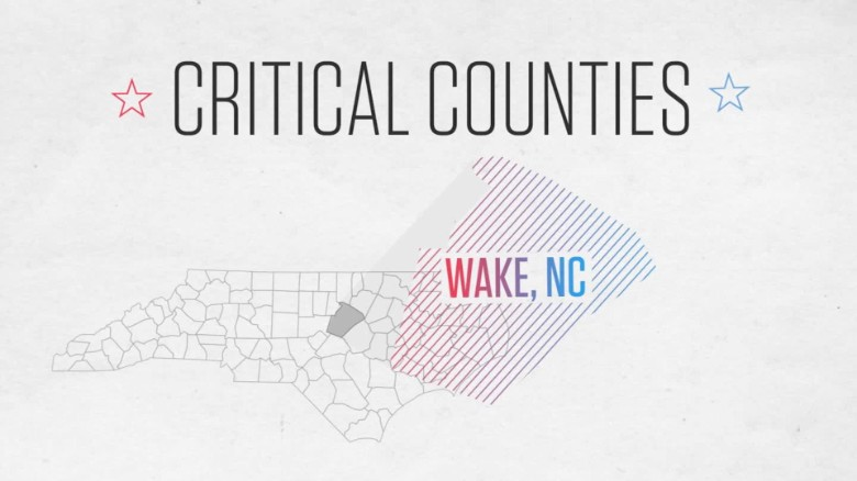 Critical Counties — Wake County, NC: The highly educated vote