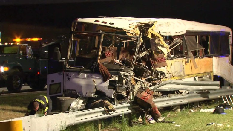 4 dead after football team bus crashes
