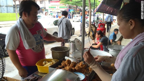 So worth it: Mr Chiam's deep fried bananas