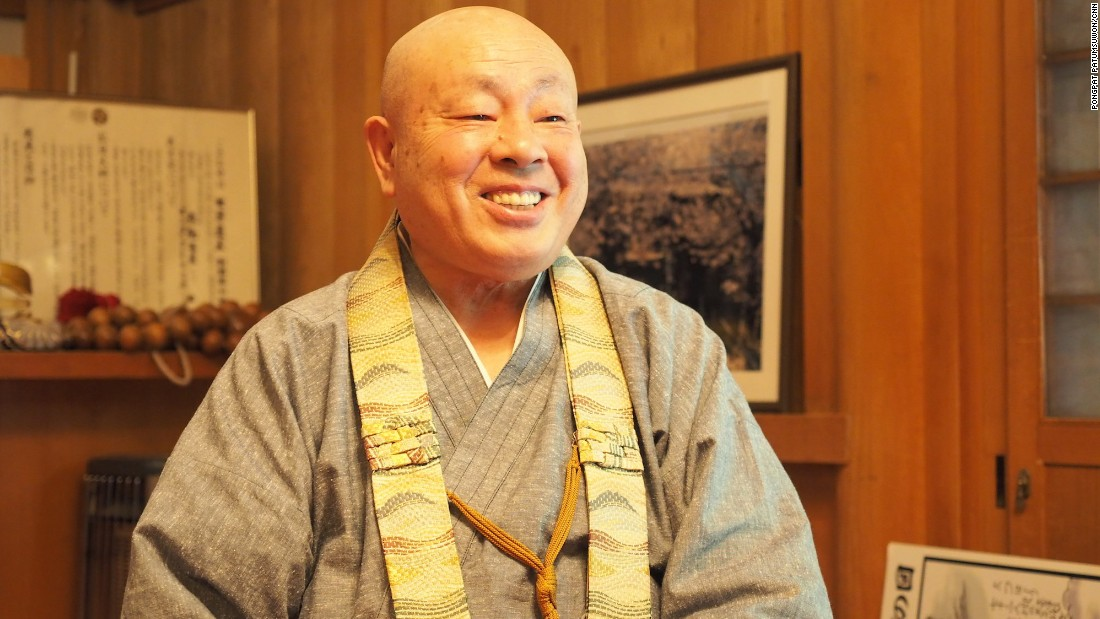 "According to legend, Kobo Daishi walked the 24 kilometers down from Mount Koya nine times a month to see his mother at Jison-In. ""That's why the town is called Kudoyama -- 'Nine Times Mountain',"" says Annen."