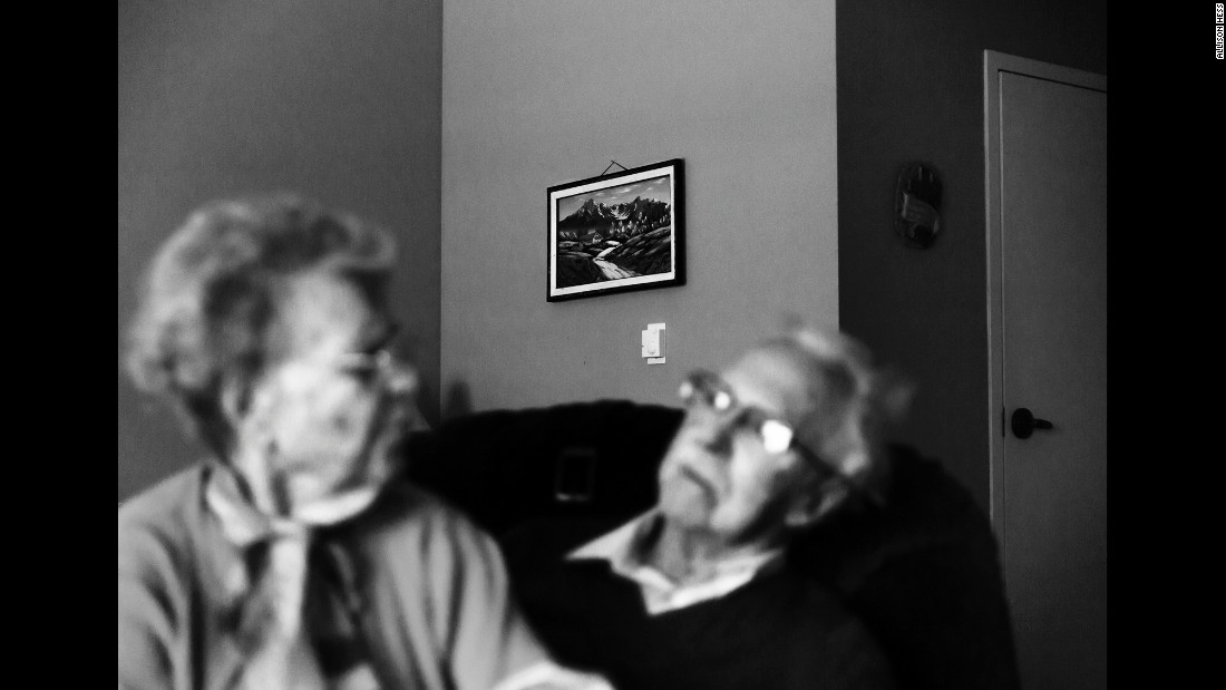 Eloise and Ward Hill have been married for nearly seven decades. They live in a memory care facility in Lincoln, Nebraska, as they both have been diagnosed with Alzheimer's disease.
