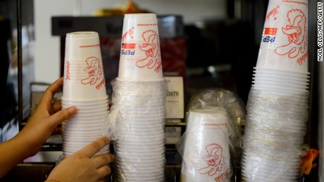 France becomes first country to ban plastic cups and plates