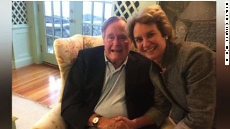 George HW Bush Clinton vote facebook post