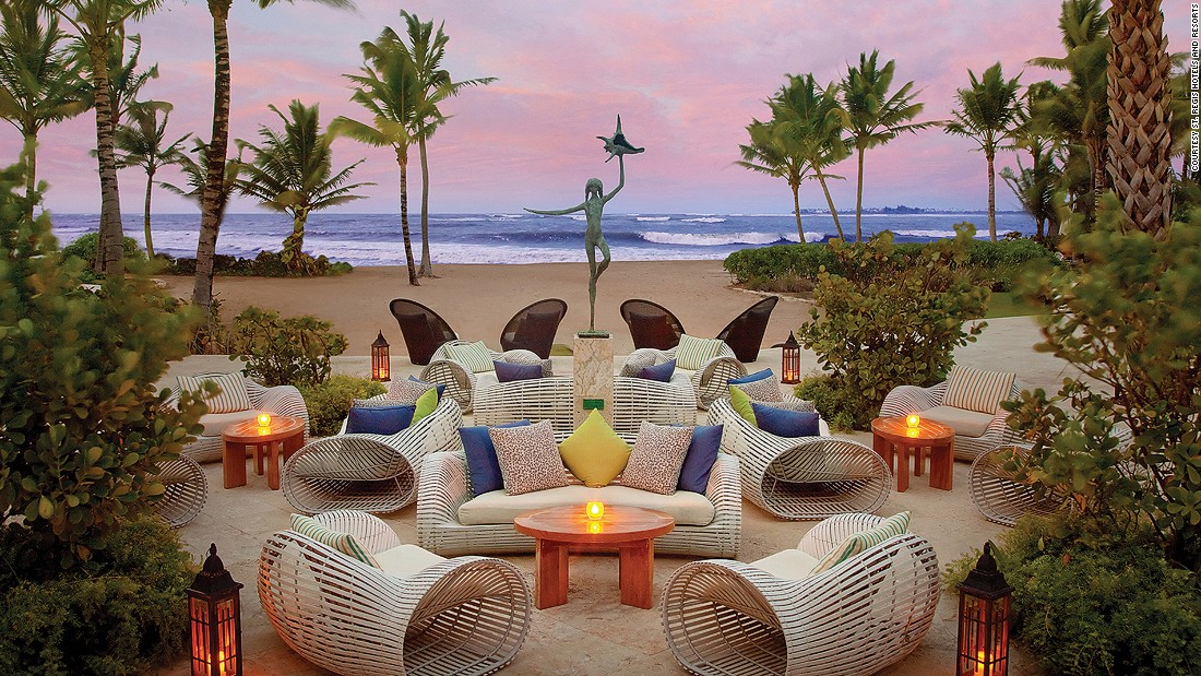 The St. Regis Bahia Beach Resort sprawls across a whopping 483 acres near El Yunque National Forest. It boasts its own private beach, bird sanctuary and 18-hole oceanfront gold course.