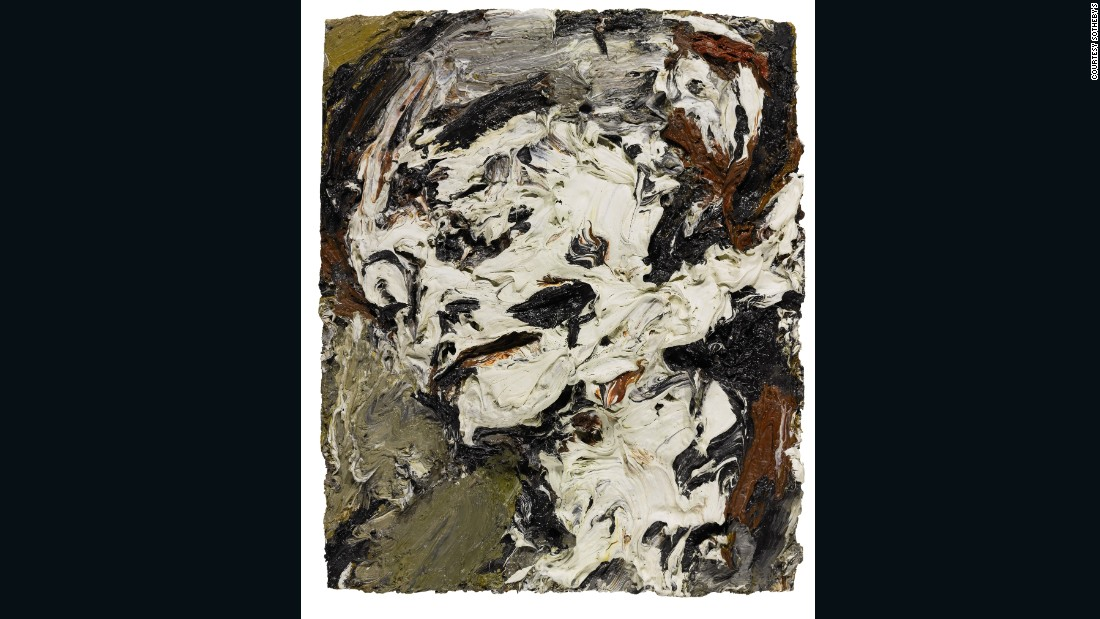 """My God, yeah! I want to sound like that looks"" -- David Bowie on Frank Auerbach's work, quoted in the New York Times, 1998. Bowie loved the rich, sculptural effects of Auerbach's paintings, and clearly felt a deep affinity with the artist, whose work could provoke in him a whole gamut of reactions: ""It will give spiritual weight to my angst. Some mornings I'll look at it and go, ''Oh, God, yeah! I know!'' But that same painting, on a different day, can produce in me an incredible feeling of the triumph of trying to express myself as an artist."" [Ibid]<br /><br />The painting was last exhibited at the Royal Academy, when Bowie lent the work to Auerbach's retrospective in 2001."