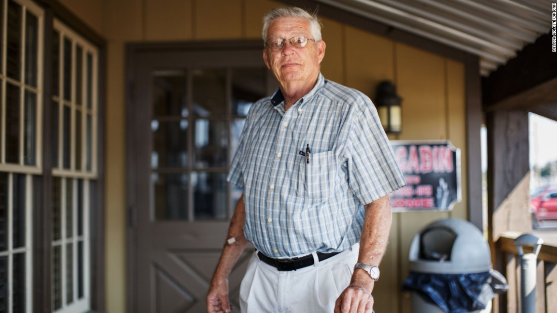 """You can't just open the floodgates to every nationality and ethnic group. And I think that's what's happened,"" Marlin Murphy says. ""Our country's lost control."" The military veteran and retired construction company owner says he's particularly worried about Muslim immigrants coming into the United States. ""I think they're a threat and a danger to this country because they're out to kill us."""