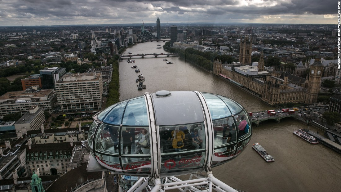 Britain's vote to leave the European Union may have created uncertainty at home, but favorable exchange rates have made it more affordable. And whatever happens, the London Eye continues to revolve, offering amazing views of the River Thames.