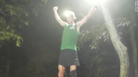 Meltzer celebrates his record